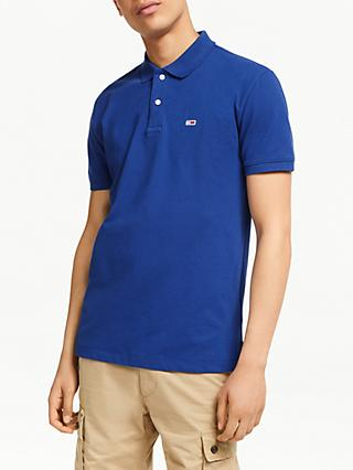 47616c87 Tommy Jeans Essential Short Sleeve Polo Shirt