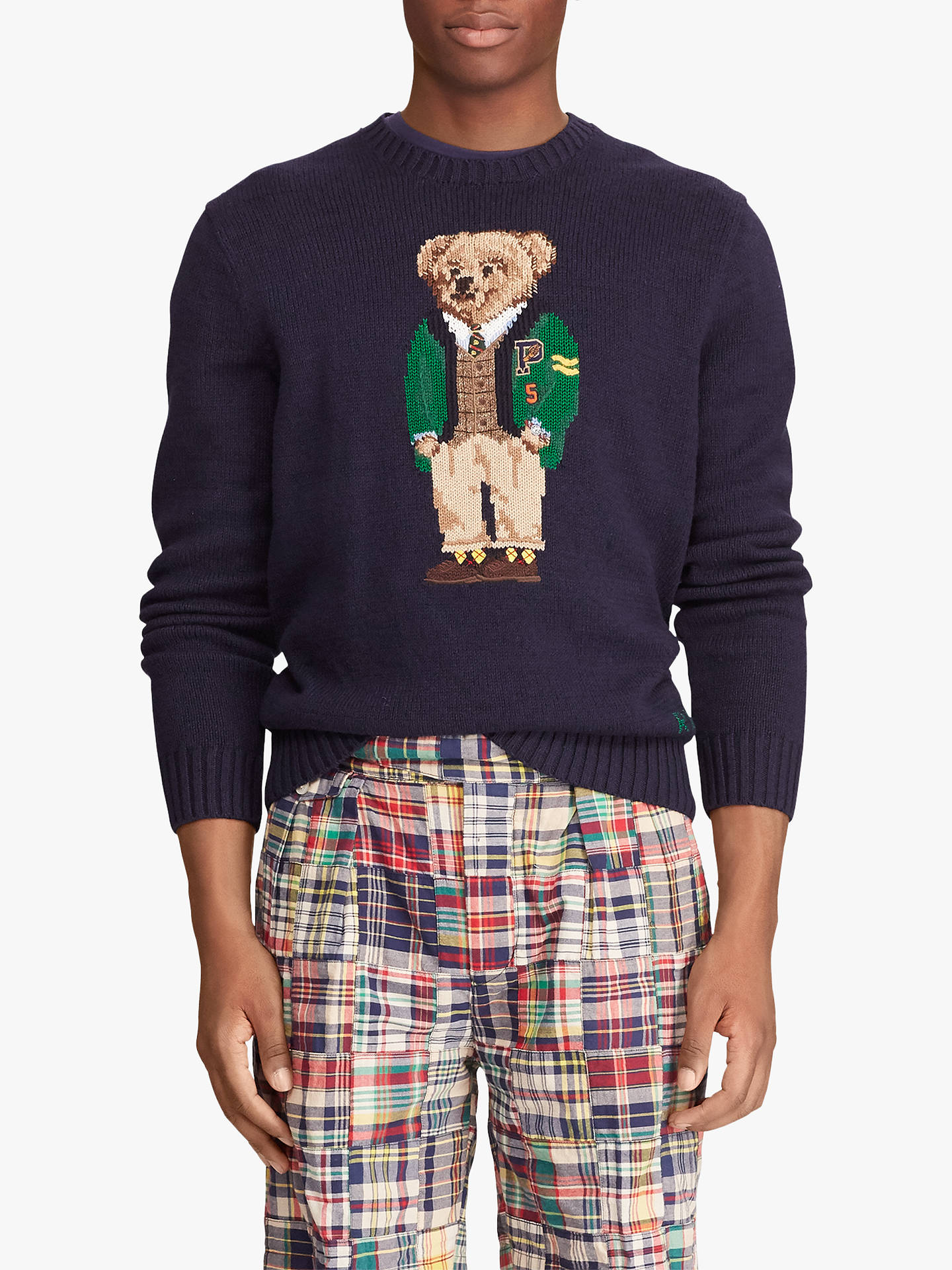 db81f79dcc Polo Ralph Lauren University Bear Sweater, Navy