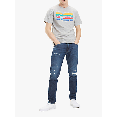 Tommy Jeans Modern Tapered Fit Jeans, Save Dark Blue