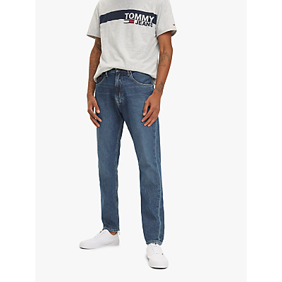 Tommy Hilfiger Modern Tapered Jeans, Mid Blue