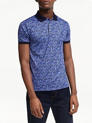 94d32b276f Polo Ralph Lauren Floral Print Jersey Polo Shirt