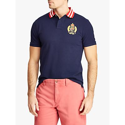 Polo Ralph Lauren Short Sleeve Stripe Collar Polar Shirt