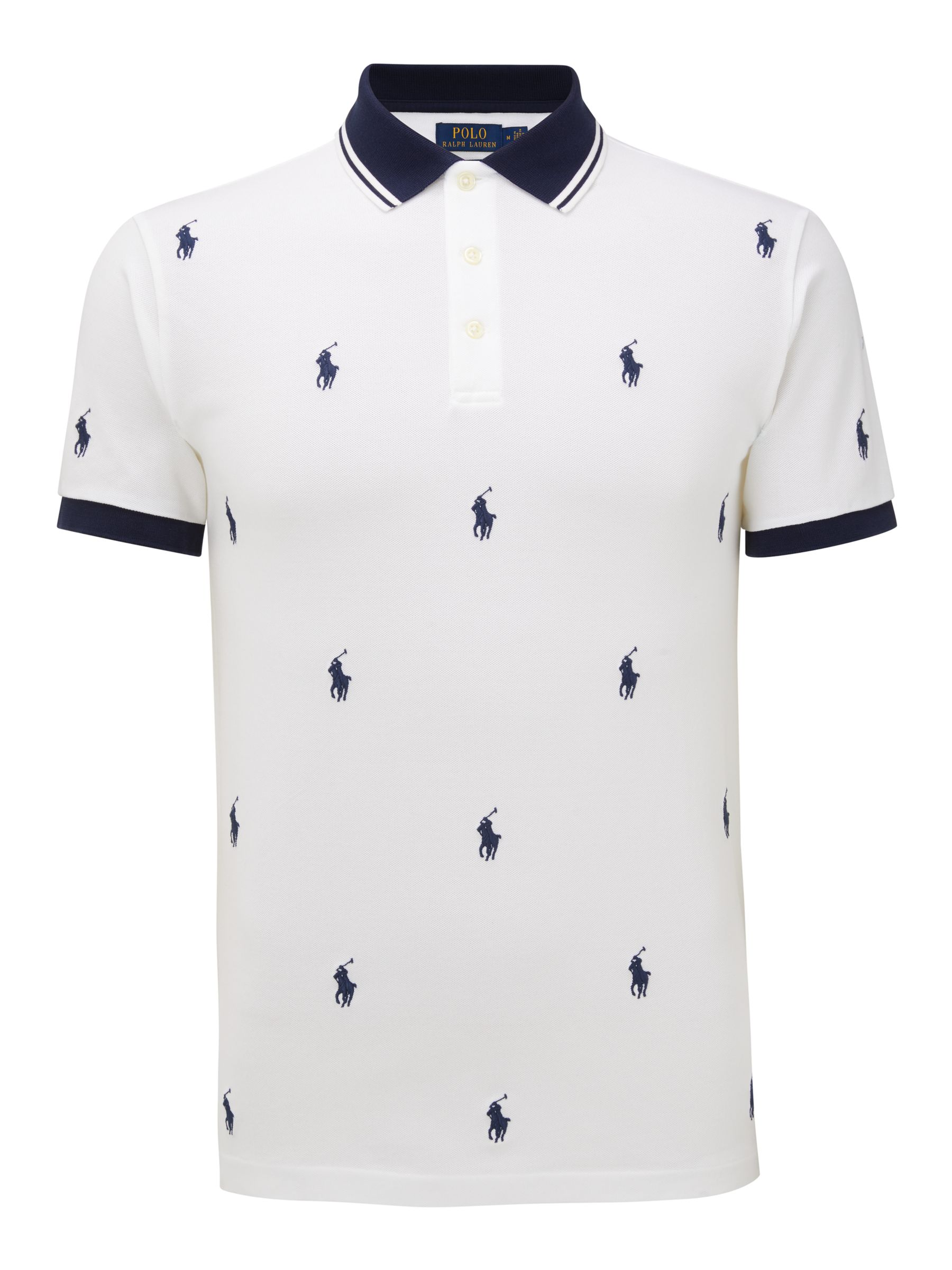 Polo Ralph Lauren Pony Pattern Polo Shirt,