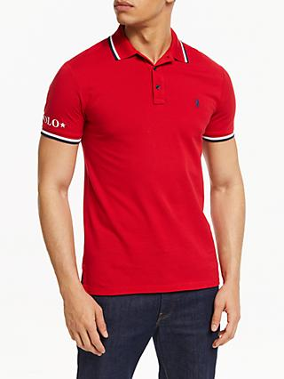Polo Ralph Lauren Knit Polo Shirt, Red
