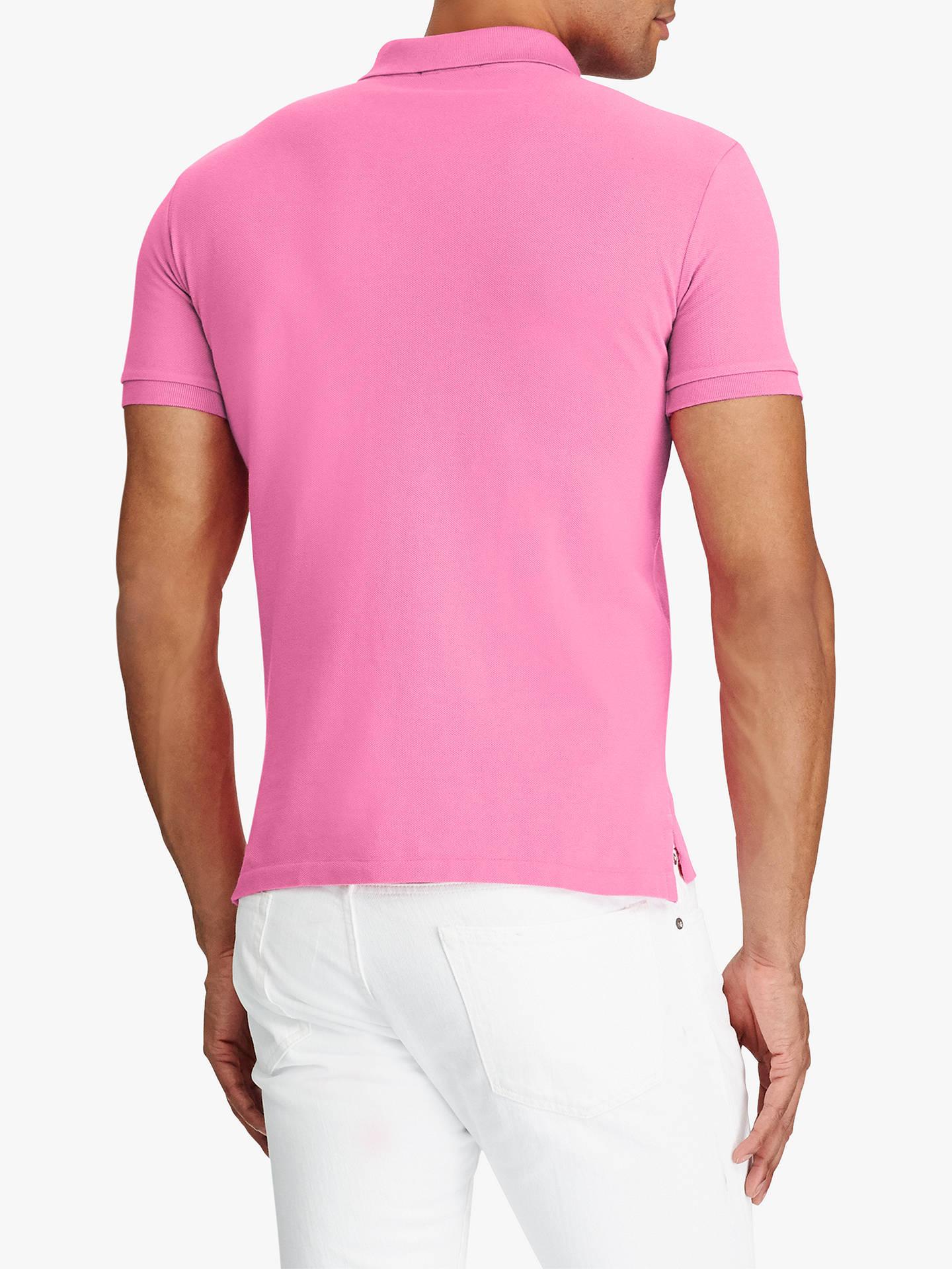 f5a59cdad7be Polo Ralph Lauren Mesh Polo Shirt, Maui Pink