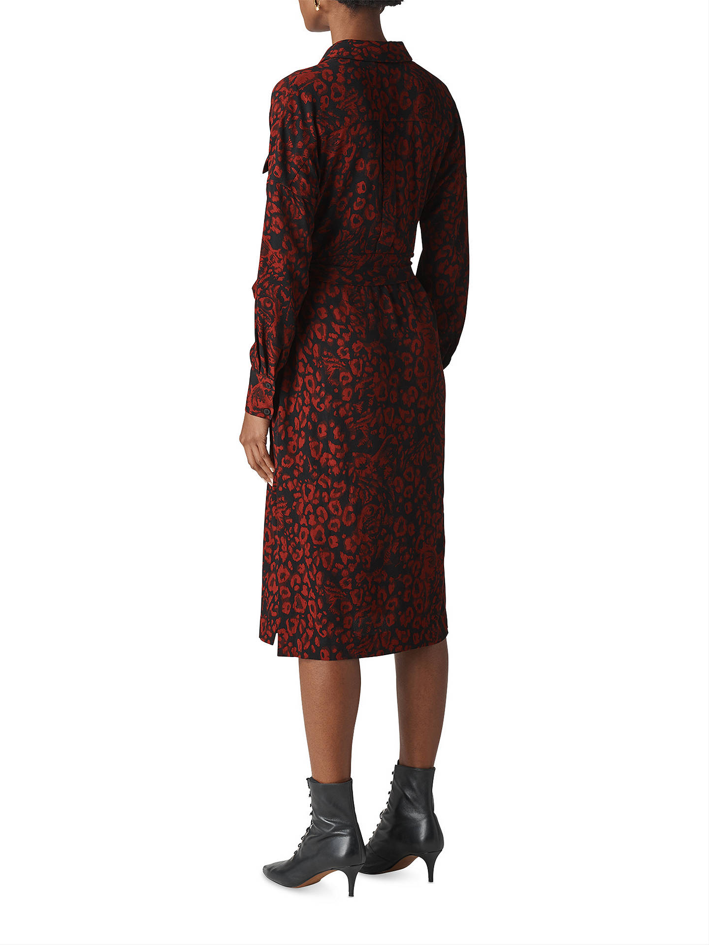 a3c969f7a10e0 ... Buy Whistles Jungle Leopard Print Utility Shirt Dress
