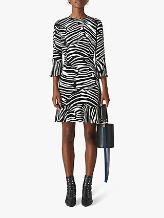 b47b601e91e2 Whistles Zebra Print Flippy Dress