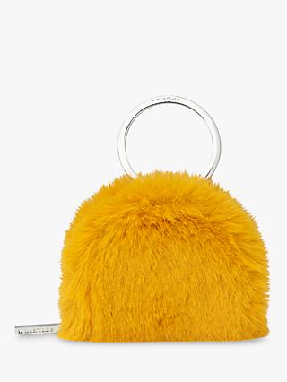 Whistles Harper Faux-Fur Zip-Up Keyring