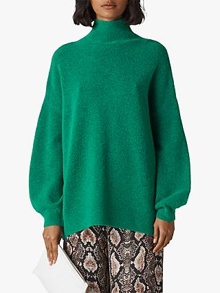 Whistles Oversized Funnel Neck Knit Jumper