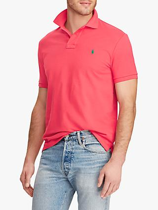 Polo Ralph Lauren Short Sleeve Custom Slim Fit Mesh Polo Shirt