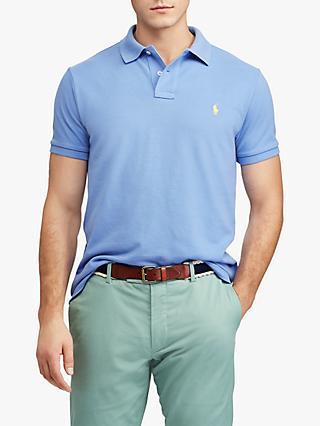 c4855f7e3a20ae Polo Ralph Lauren Short Sleeve Custom Slim Fit Mesh Polo Shirt