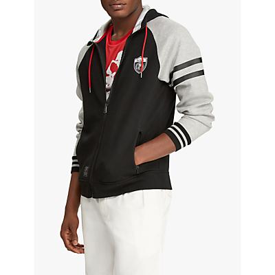 Polo Ralph Lauren Logo Hoodie, Black/Heather