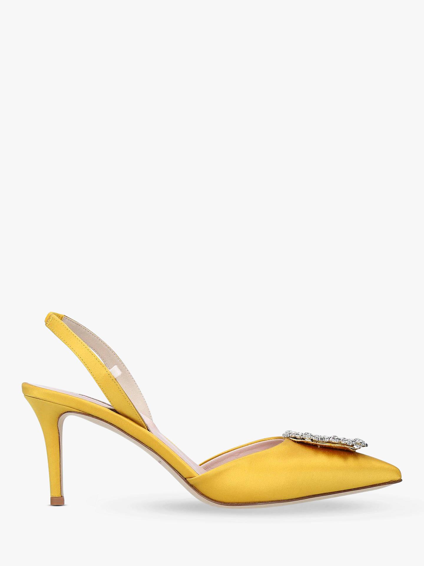 26707c114ab SJP by Sarah Jessica Parker Mabel Satin Slingback Court Shoes ...