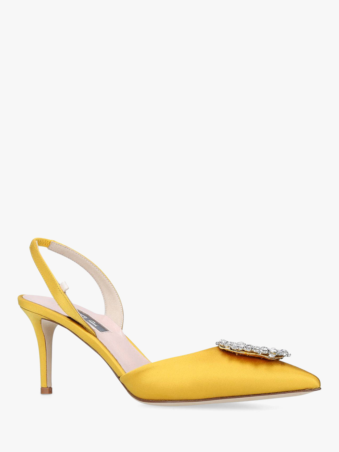 0f34a674daa ... Buy SJP by Sarah Jessica Parker Mabel Satin Slingback Court Shoes