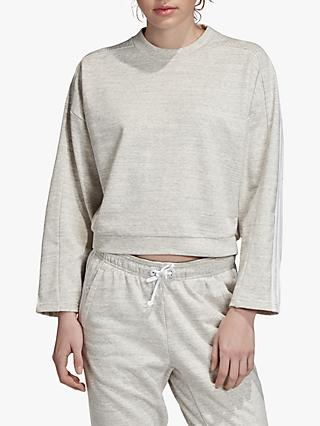 adidas Must Haves Melange Sweatshirt, MGH Solid Grey