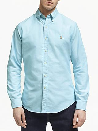 6058f5925775 Polo Ralph Lauren Cotton Oxford Slim Fit Shirt