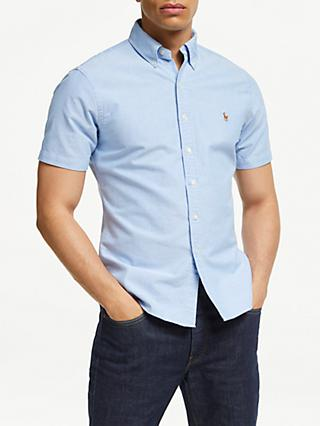 ed80ec084091f Polo Ralph Lauren Poplin Short Sleeve Shirt