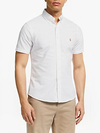 e42b7f95dacd8 Polo Ralph Lauren Cotton Twill Short Sleeve Shirt