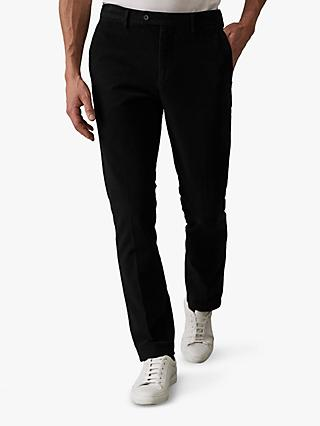 Reiss Louis Moleskin Slim Fit Trousers