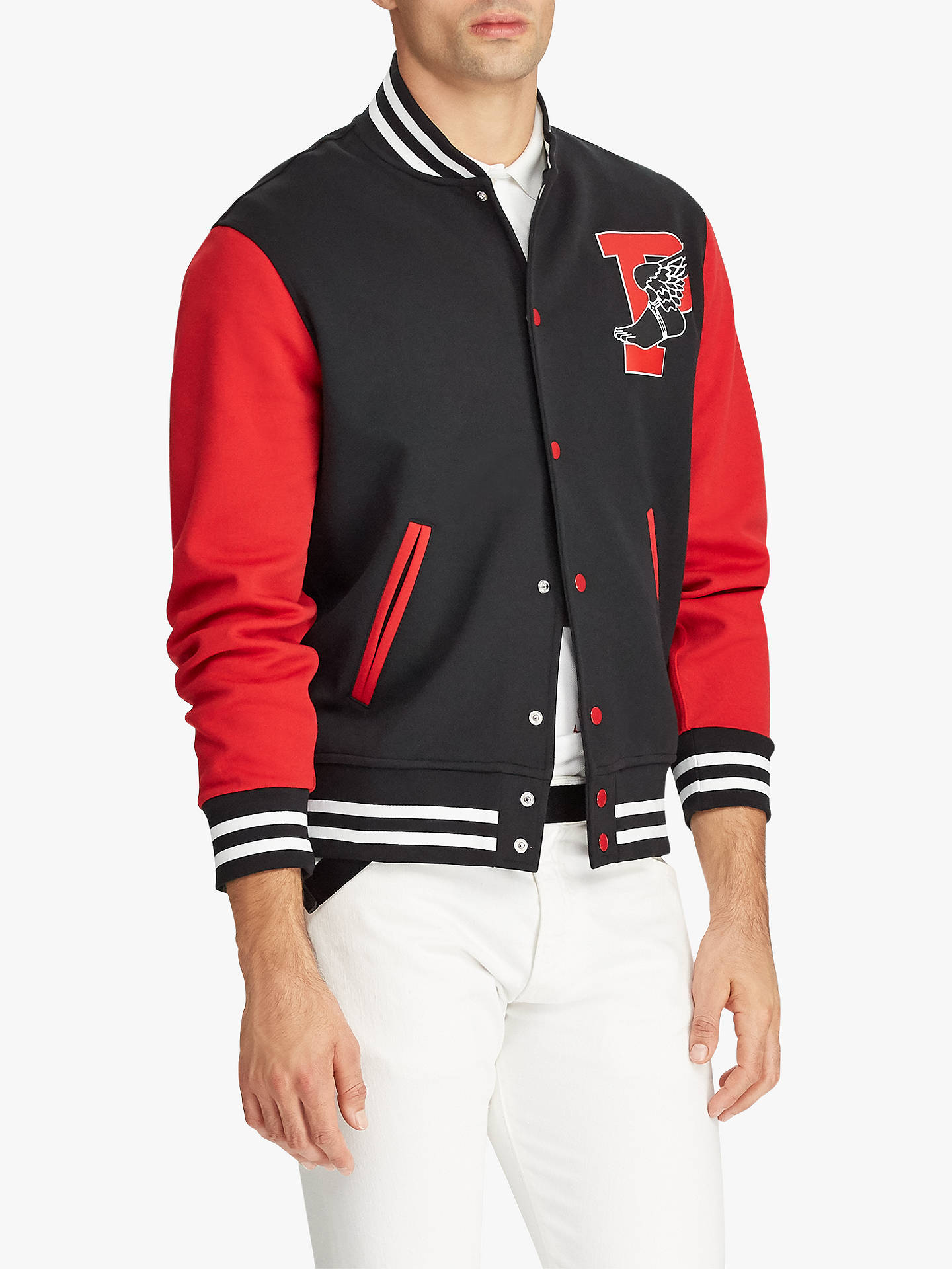 7d91a2f7c Buy Polo Ralph Lauren P-Wing Baseball Jacket