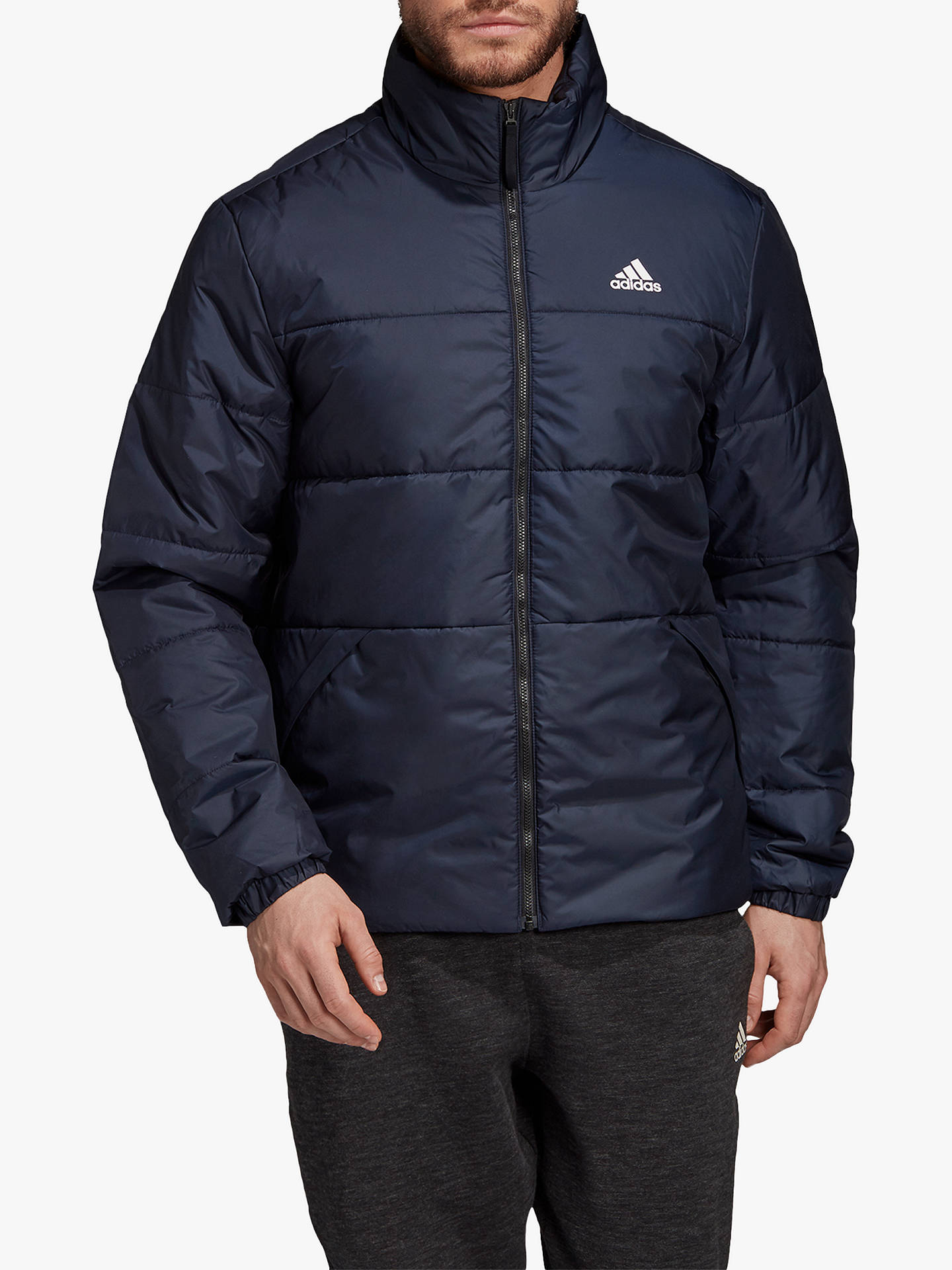 adidas BSC 3 Stripes Insulated Jacket, Legend Ink