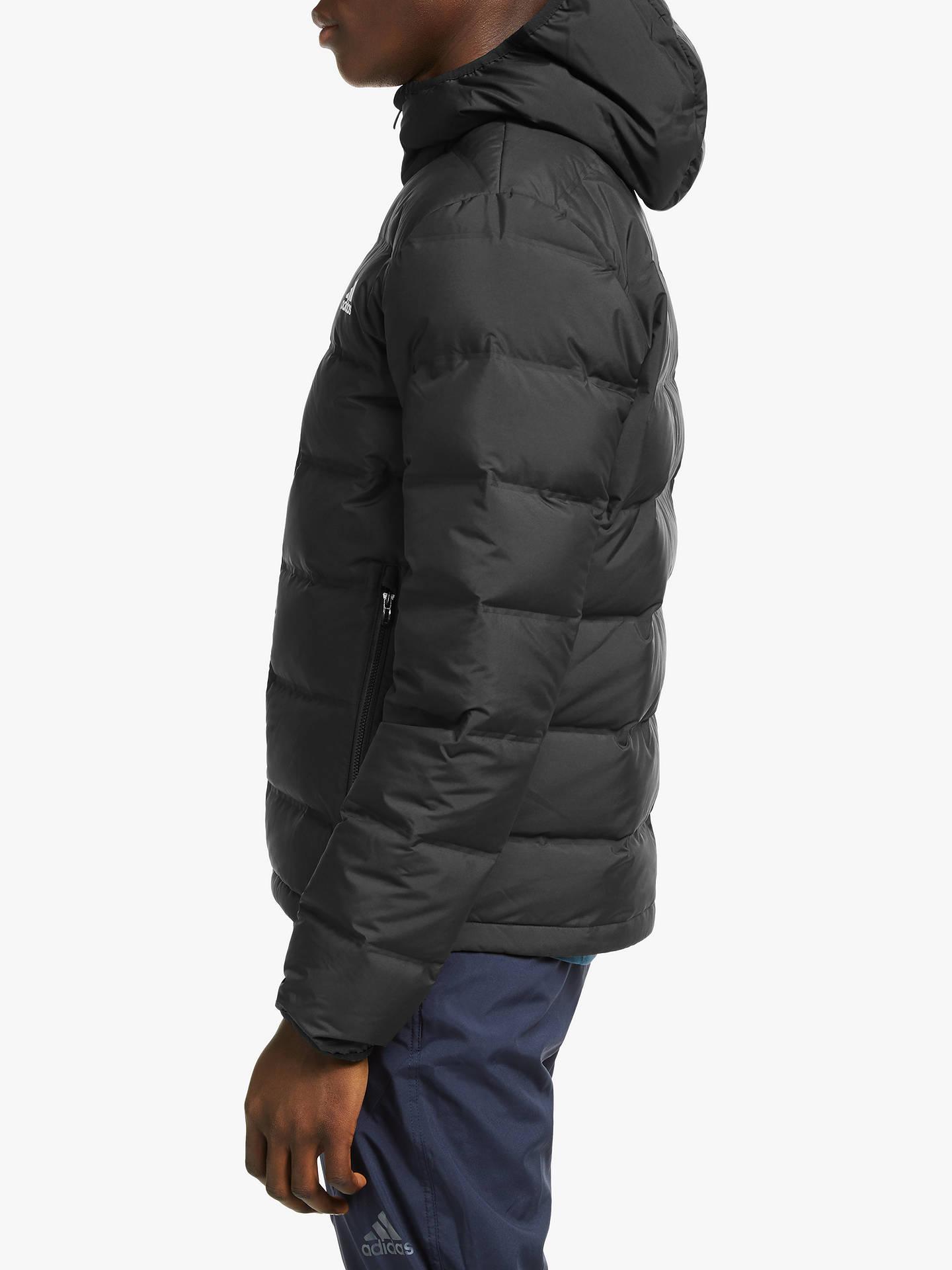 Casi muerto débiles Diez años  adidas Helionic Hooded Down Men's Insulated Jacket, Black at John ...
