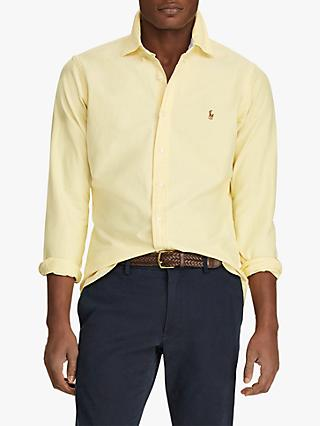 Polo Ralph Lauren Oxford Shirt, Oxford Yellow