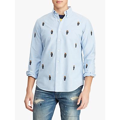 Polo Ralph Lauren Bear Oxford Shirt, Blue