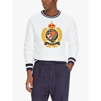 Polo Ralph Lauren Fleece Graphic Sweatshirt, White