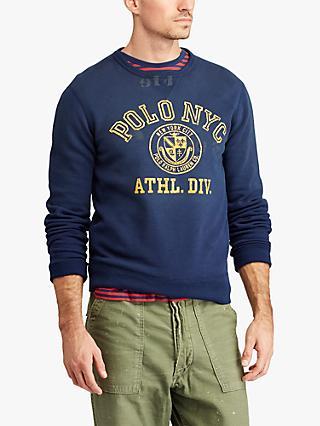 df928a2b7 Polo Ralph Lauren Fleece Graphic Sweatshirt