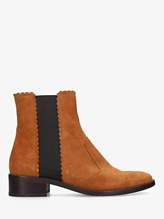 cacaede64e4 See By Chloé Scallop Edge Ankle Boots