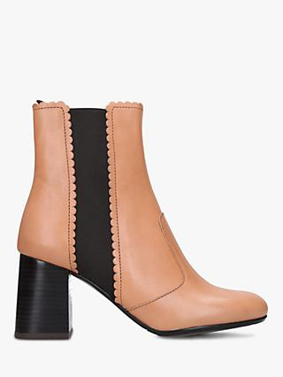 fb1c50c0e319 See By Chloé Contrast 70 Block Heel Ankle Boots