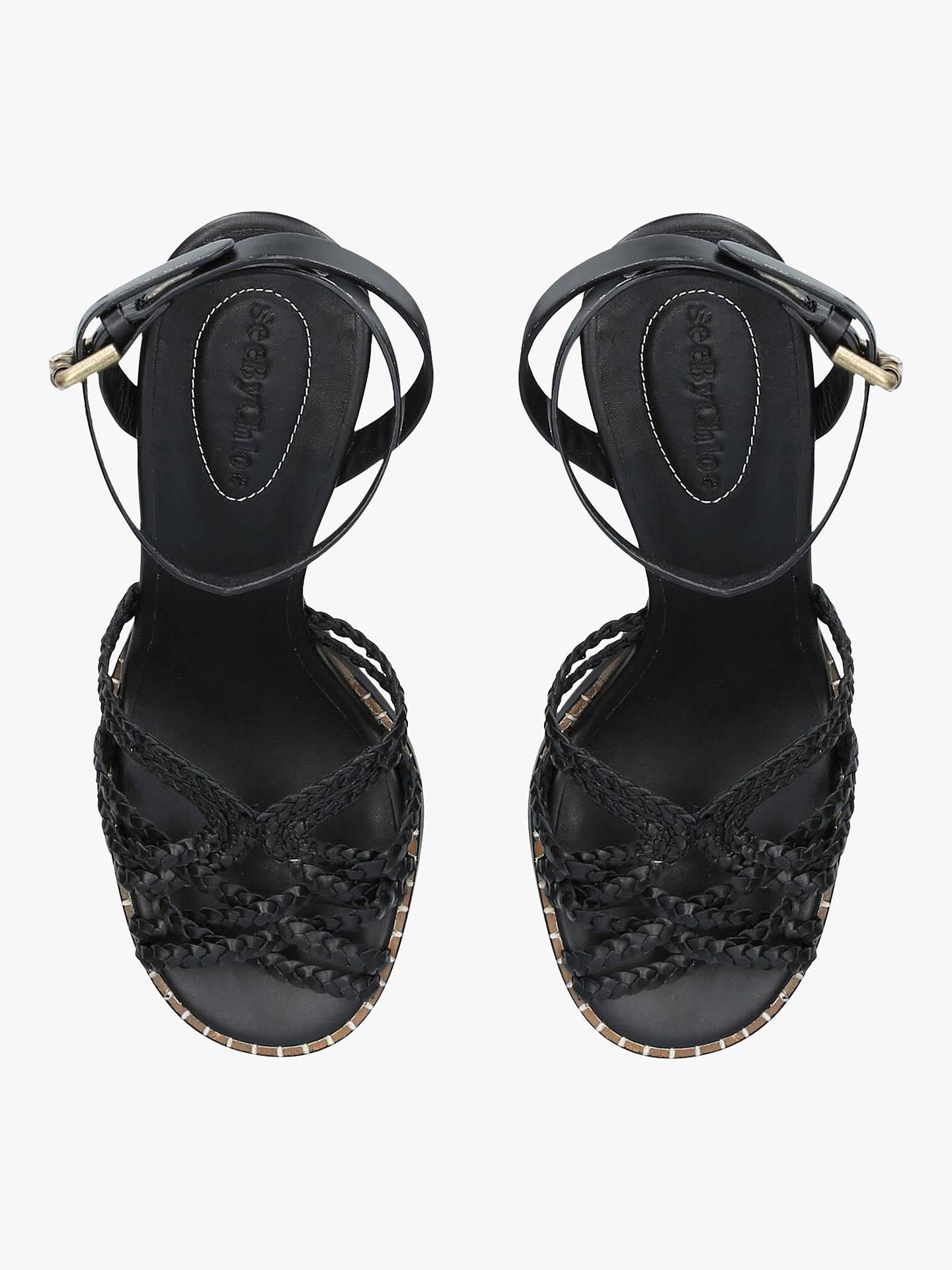 cc561b403b8 ... Buy See By Chloé Gladiator Braid Block Heel Sandals