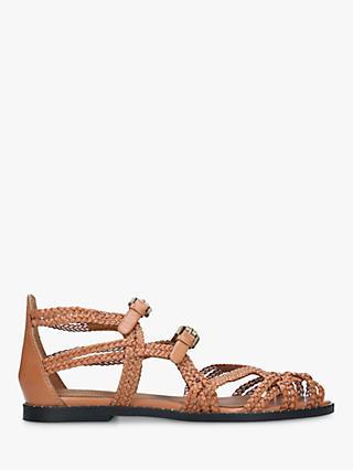 6e8c030ae1b60f See By Chloé Braided Gladiator Sandals