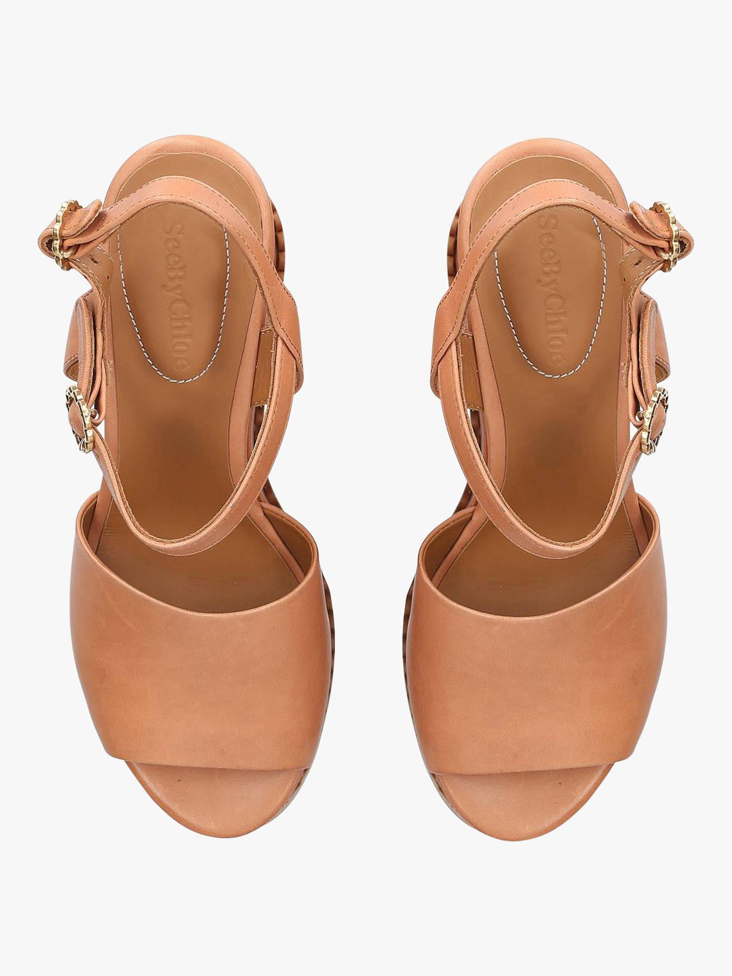 ee185ee96 Buy See By Chloé Texture Platform Sandals