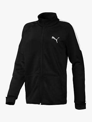 PUMA Boys' Jacket, Black