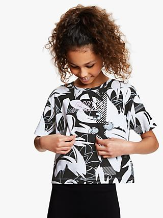 PUMA Girls' Graphic Print T-Shirt