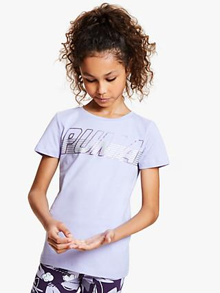 PUMA Girls' Logo T-Shirt