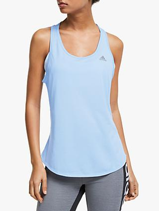 adidas Run It Running Vest, Glow Blue