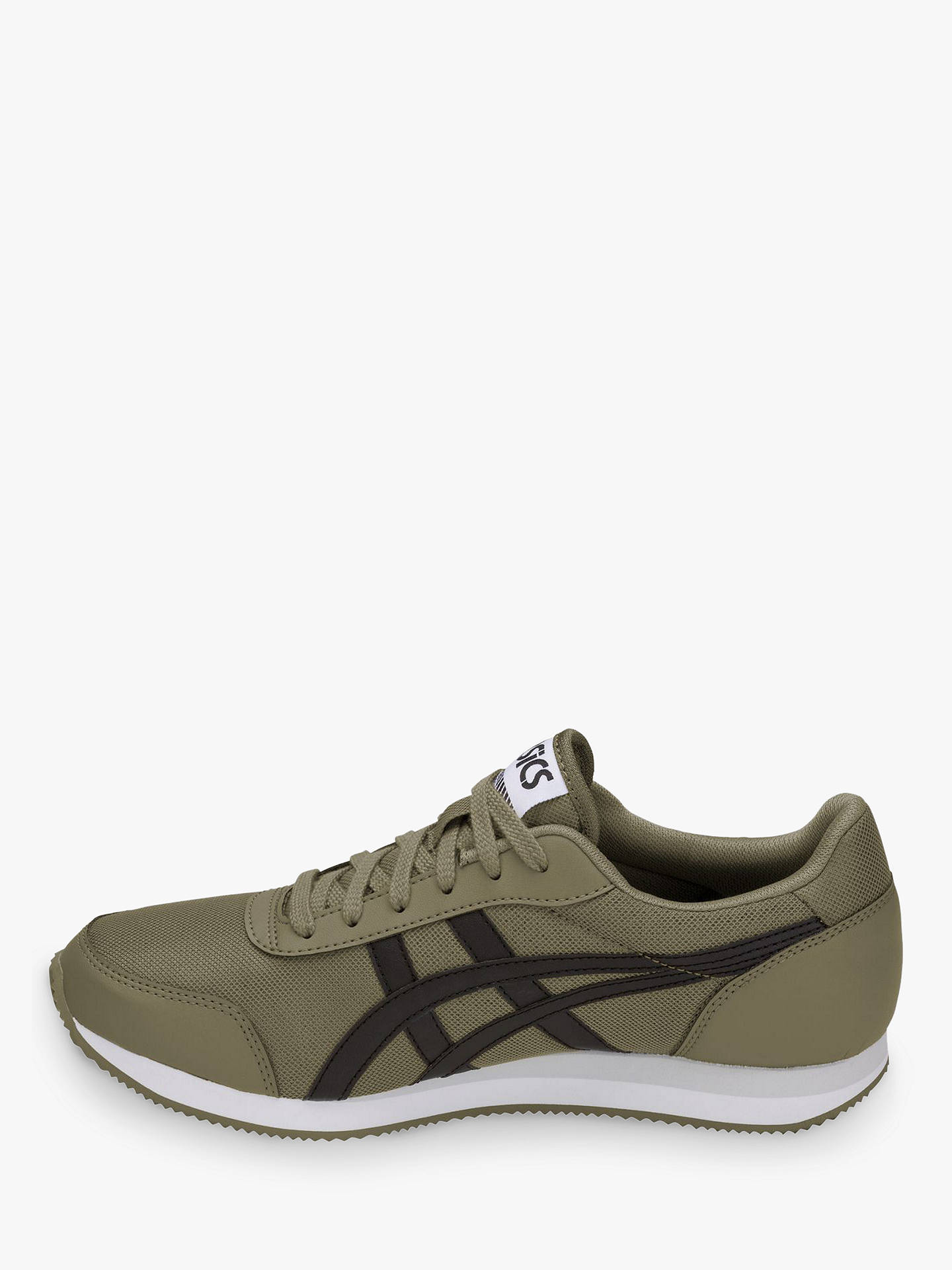 Buy ASICSTIGER Curreo II Trainers, Aloe/Black, 7 Online at johnlewis.com