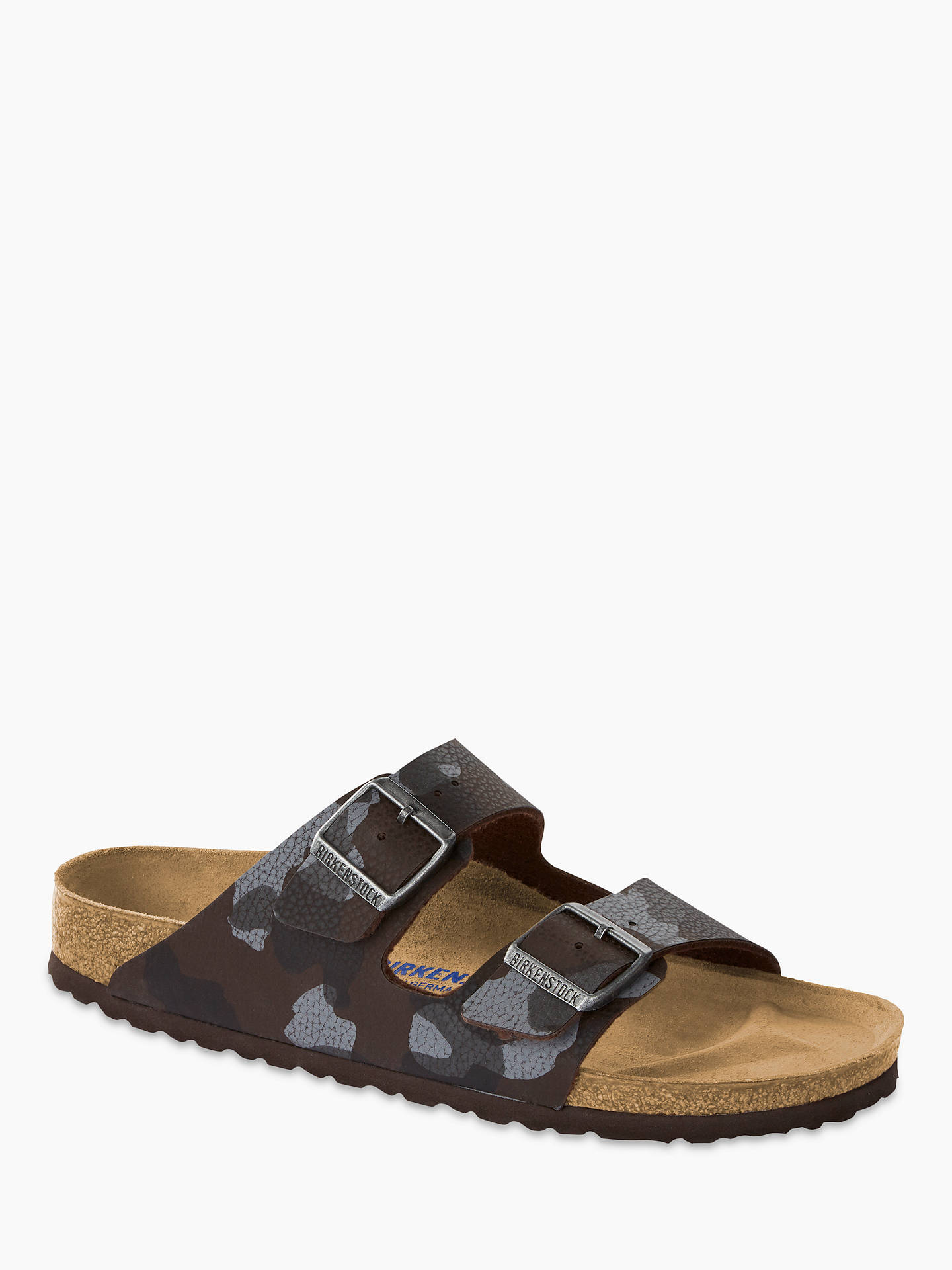e88a13b494e0 Buy Birkenstock Arizona Camouflage Sandals, Desert Soil Camo, 8 Online at  johnlewis.com