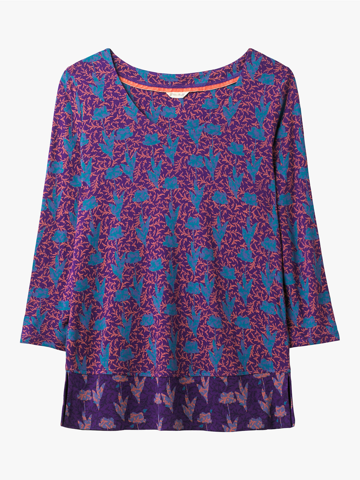 b97f1052e1d Buy White Stuff Fig Tree Jersey Top, Multi, 8 Online at johnlewis.com ...
