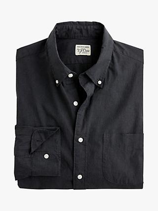 61ef24fdc5 J.Crew Stretch Secret Wash Solid Poplin Shirt