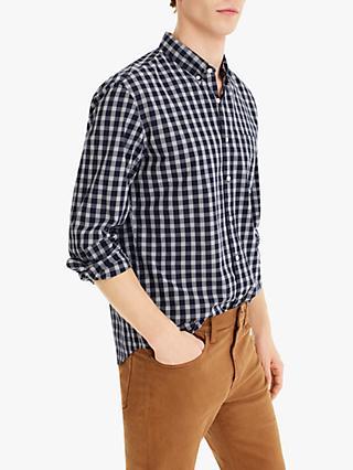 19c8d88131 J.Crew Slim Stretch Secret Wash Slim Fit Long Sleeve Shirt