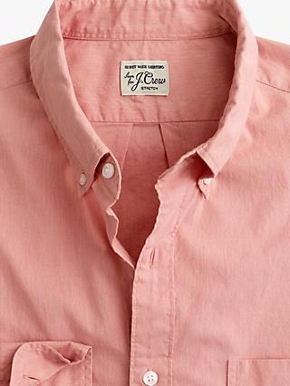 5eabcb180f J.Crew Slim Stretch Secret Wash Classic Fit Long Sleeve Shirt