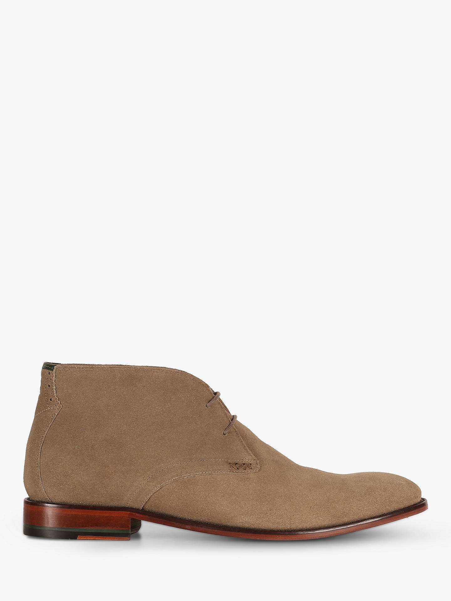 5cdafaa393 Buy Oliver Sweeney Waddell Suede Chukka Boots, Sand, 11 Online at  johnlewis.com ...