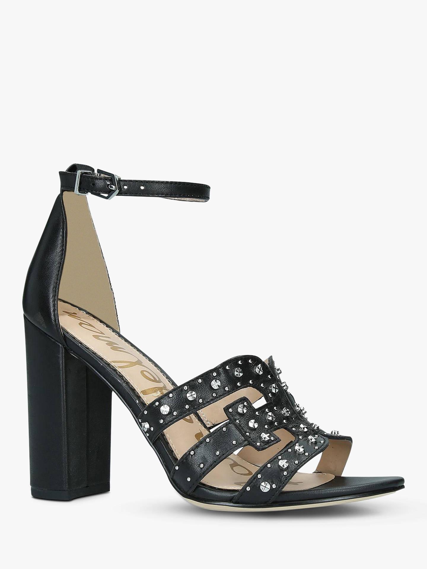 6b25df7c1 Sam Edelman Yasha Leather Studded Heeled Sandals at John Lewis ...