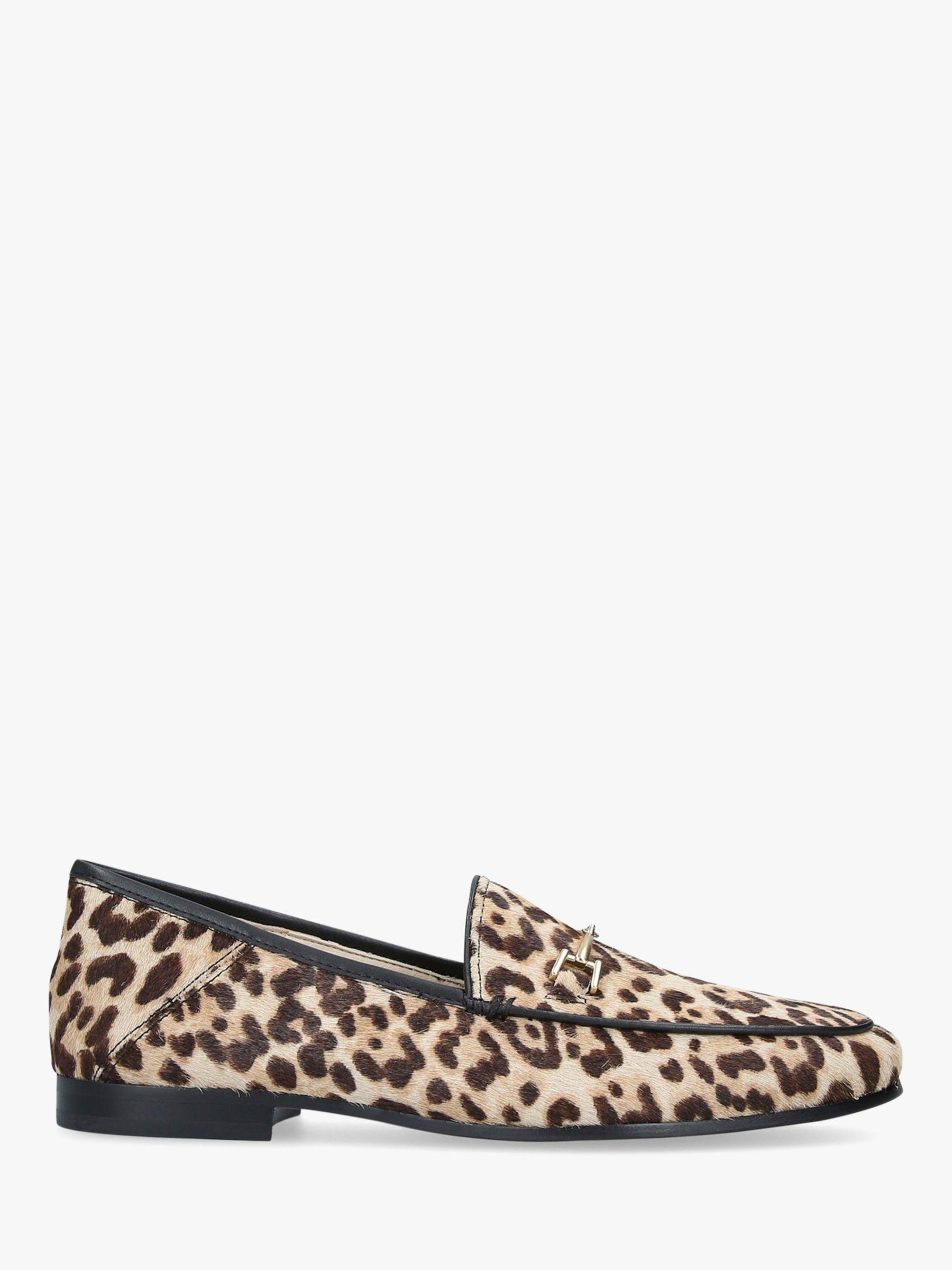 Sam Edelman Sam Edelman Loraine Leather Leopard Moccasins, Natural