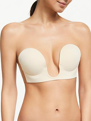 John Lewis & Partners U-Plunge Stick-On Bra
