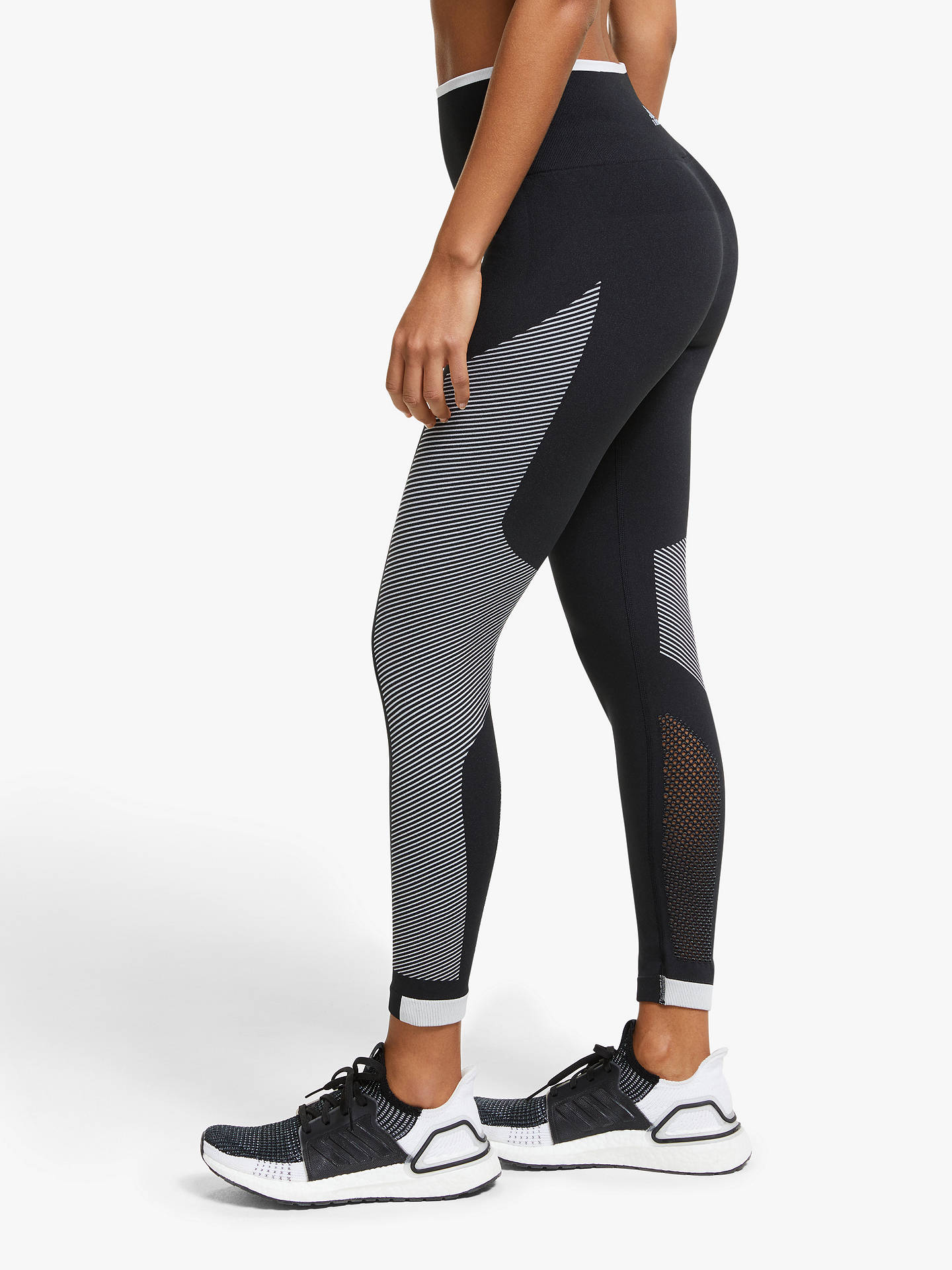 84c07f87944b8a ... Buy adidas Believe This Primeknit FLW Training Tights, Black/White, XS  Online at